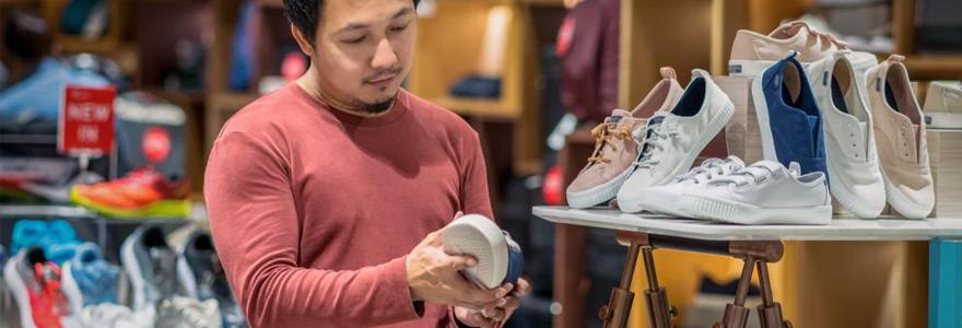 Choisir des chaussures pour homme