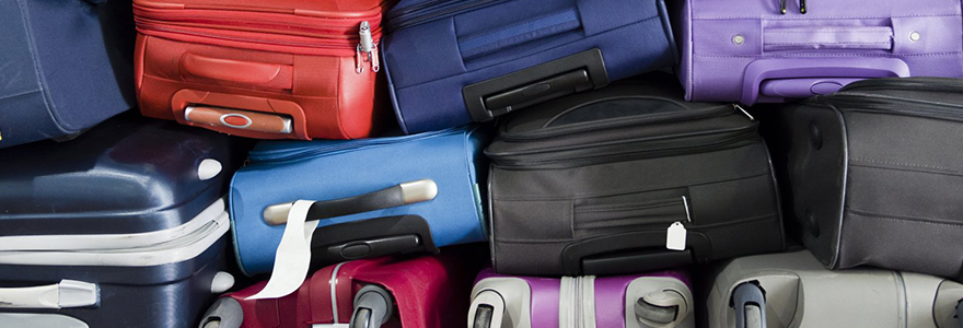 Achat de differents types de bagages en ligne