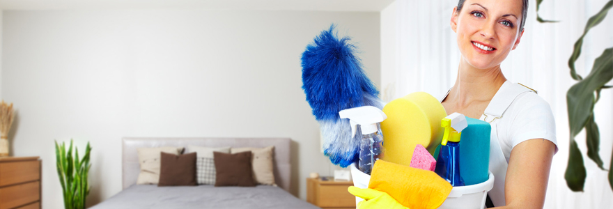femme ménage à domicile
