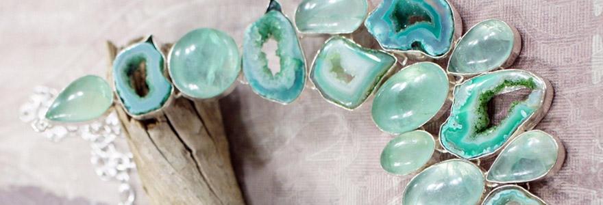 bijoux sont inspirés par la nature