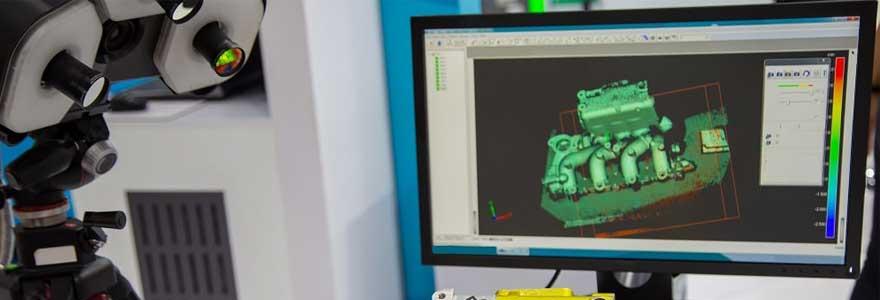 Numérisation scan laser 3D