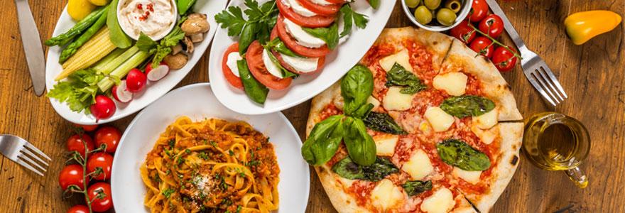 plats italiens de qualité