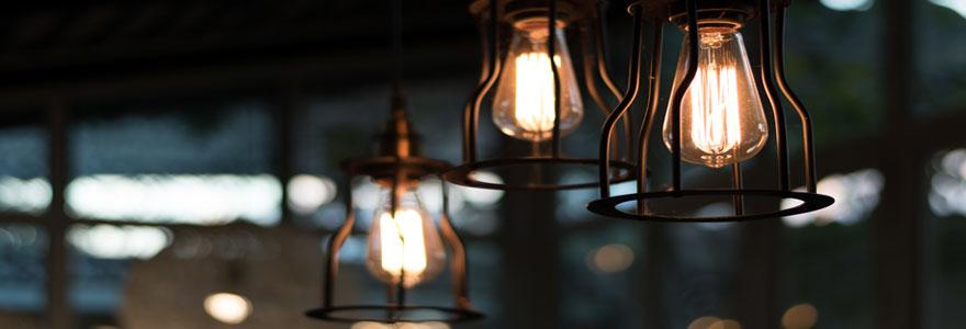 opter pour les lampes vintage
