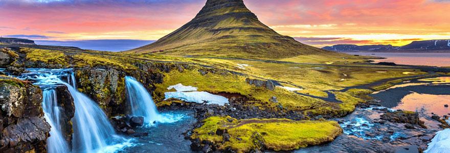 Partir à destination de l'Islande