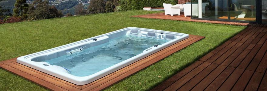 un spa de nage