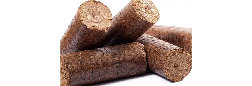bois densifié pour le chauffage