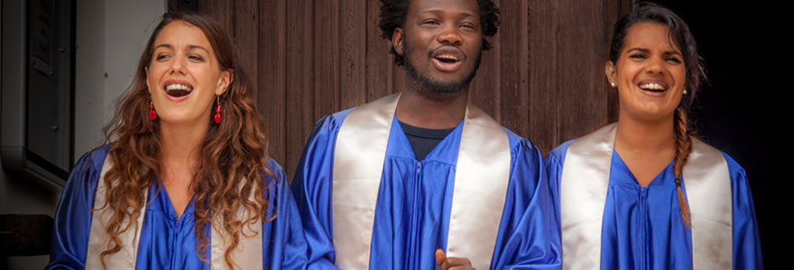 Services d'une chorale Gospel à Paris